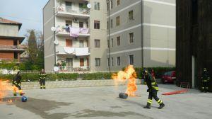 Esercitazioni vigili del fuoco