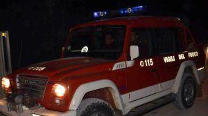 Vigili del Fuoco foto in notturna