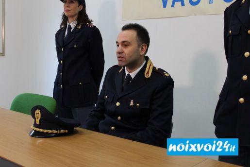 Fabio Capaldo Commissariato polizia Vasto