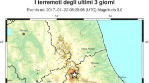 Terremoti mappa