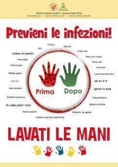 Lavati le mani