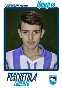 Peschetola Lorenzo (foto sito ufficiale Pescara Calcio)