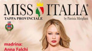 Anna Falchi selezione provinciale Miss Italia