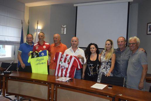 Presentazione beach soccer tappa San Salvo gruppo