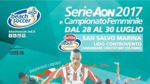 Serie Aon Lnd beach soccer