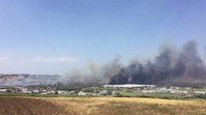 Incendio Termoli (foto Repubblica)