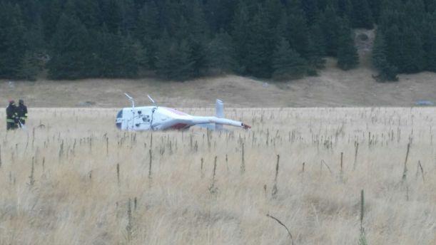 Elicottero caduto
