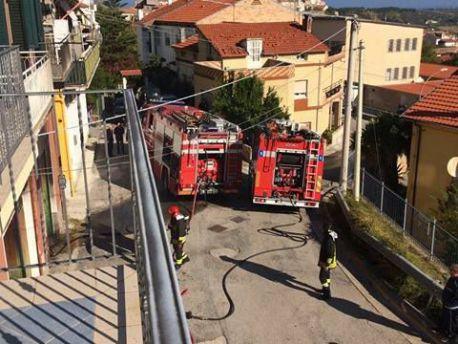 Incendio Torino di Sangro