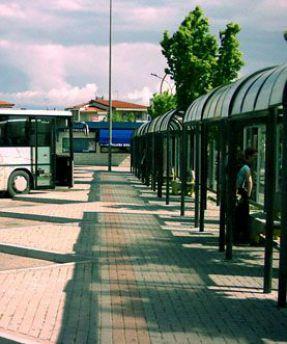 Terminal bus vasto