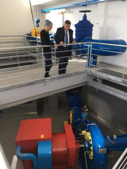 Inaugurazione centrale idroelettrica