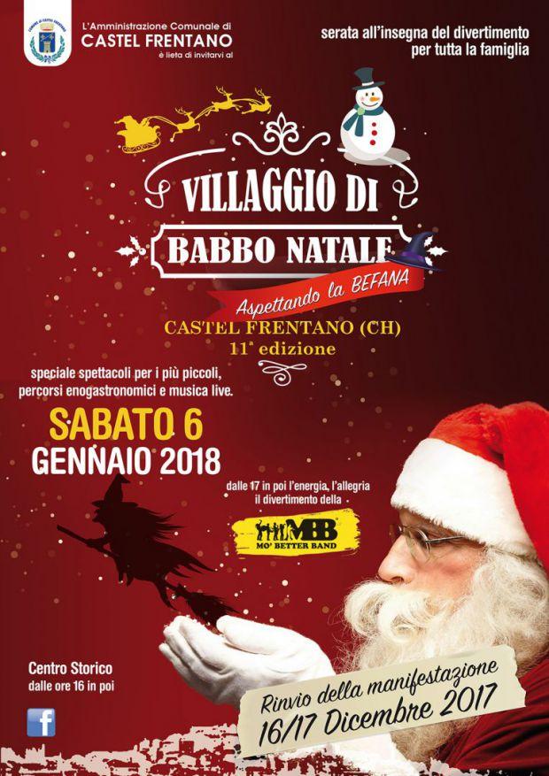Villaggio Babbo Natale Castel Frentano