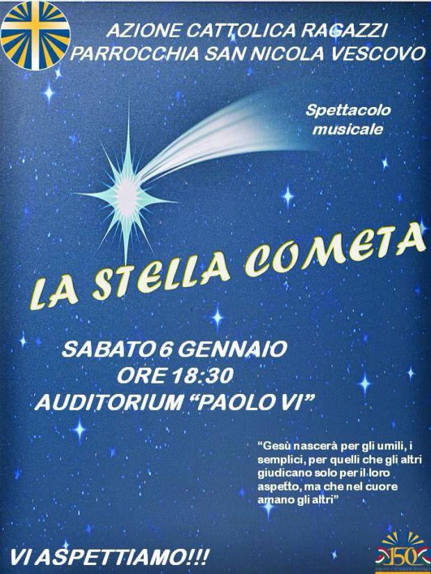 Musical la stella cometa