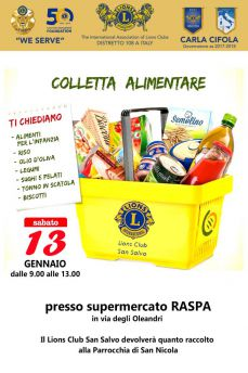 Colletta alimentare lions