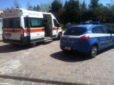 Polizia e ambulanza