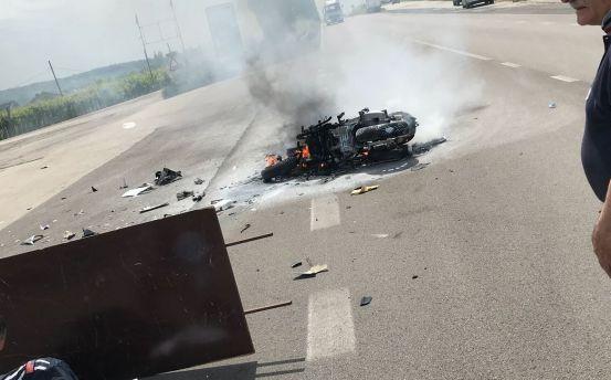 Incidente stradale statale 16