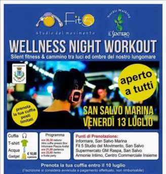 WELLNESS NIGHT WORKOUT