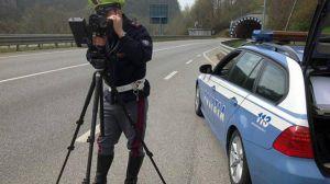Telelaser polizia