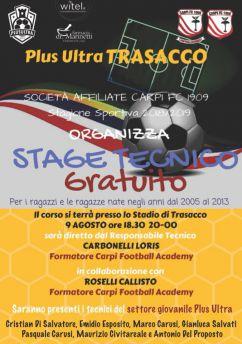 Stage tecnico Carpi Football Academy