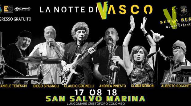 La notte di Vasco