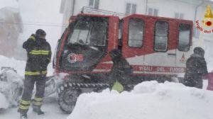 Vigili del fuoco neve castiglione