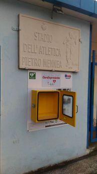 Defibrillatore rubato