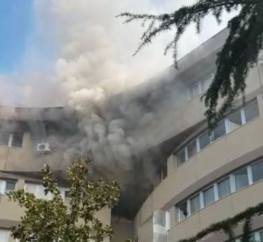 Incendio ospedale ortona