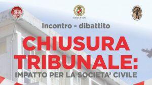 Chiusura Tribunale Convegno