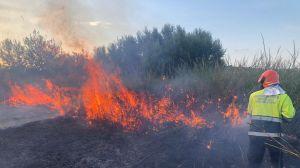 Incendio Lentella