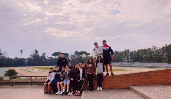 Centro olimpico formia alunni