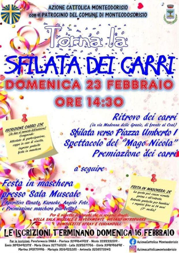 Carnevale monteodorisio