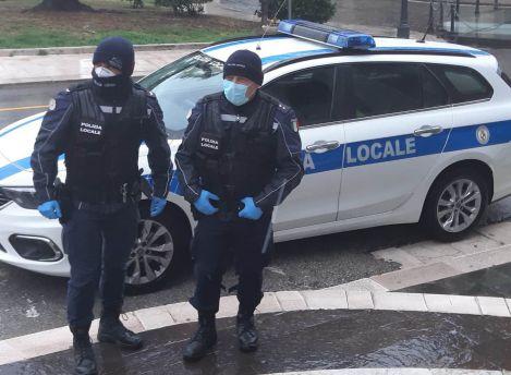 Polizia locale covid
