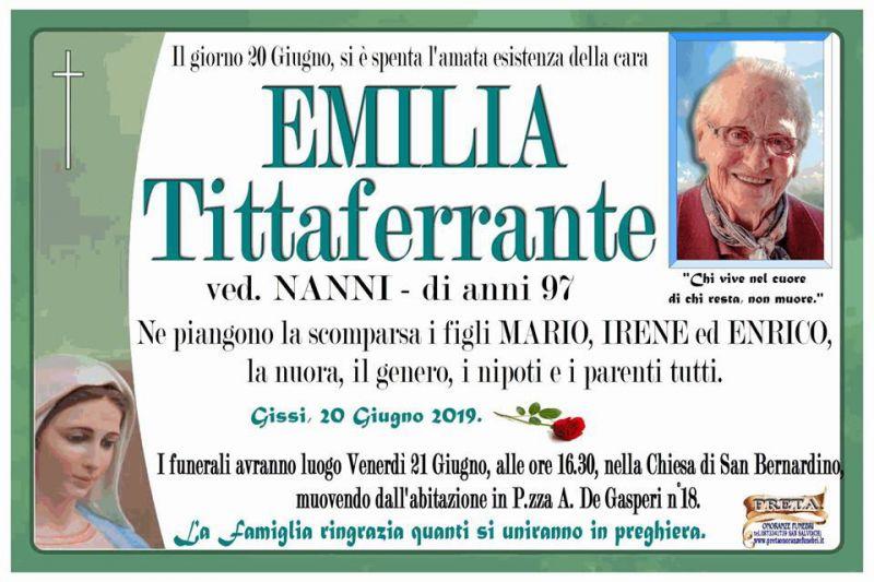 Emilia Tittaferrante 20/06/2019
