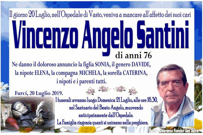 Vincenzo Angelo Santini 20/07/2019