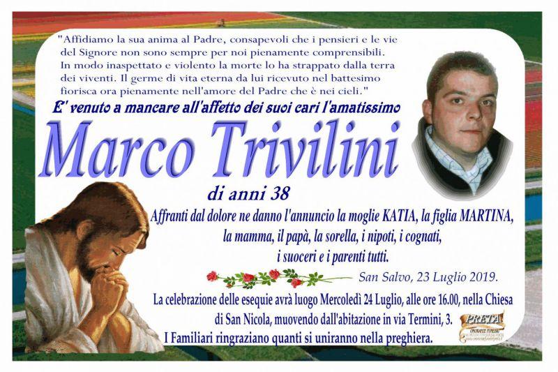 Marco Trivilini 23/07/2019