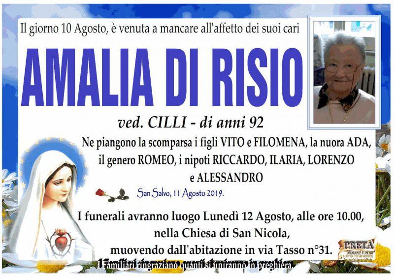 Amalia Di Risio 10/08/2019