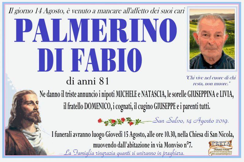 Palmerino Di Fabio 14/08/2019