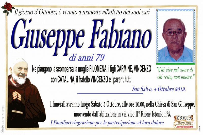 Giuseppe Fabiano 3/10/2019