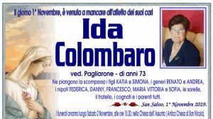 Ida Colombaro 1/11/2019