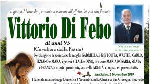 Vittorio Di Febo 2/11/2019