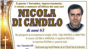 Nicola Di Candilo 7/11/2019