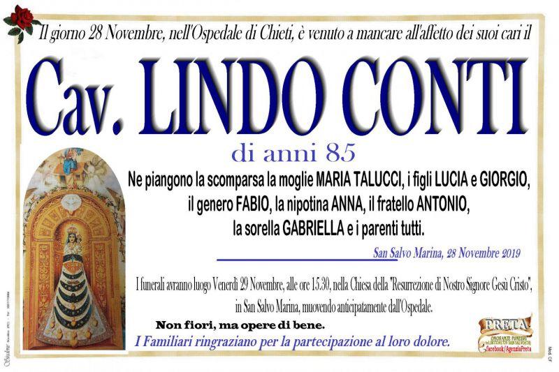 Cav. Lindo Conti 28/11/2019