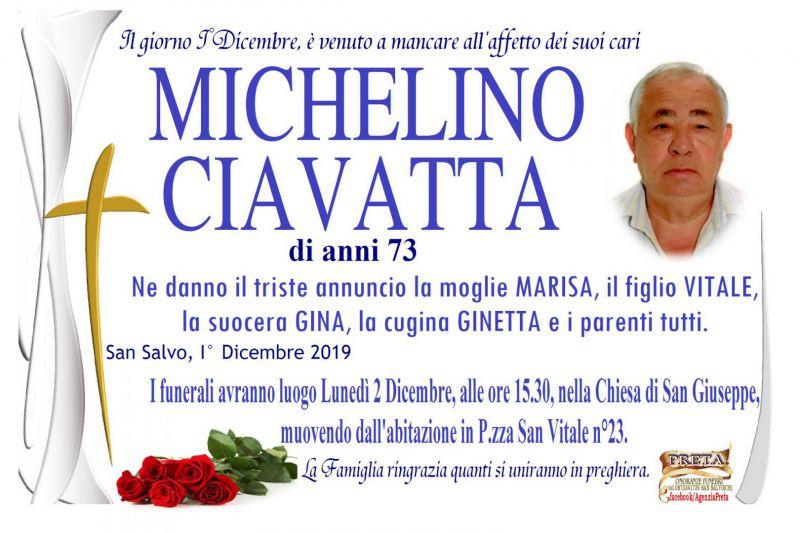 Michelino Ciavatta 1/12/2019