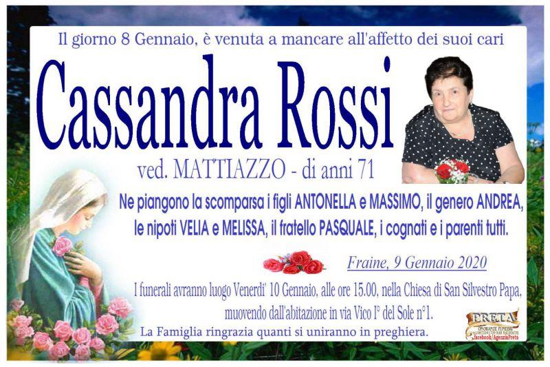 Cassandra Rossi 9/01/2020