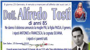 Dott. Alfredo Tosti 23/01/2020