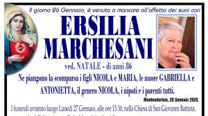 Ersilia Marchesani 26/01/2020
