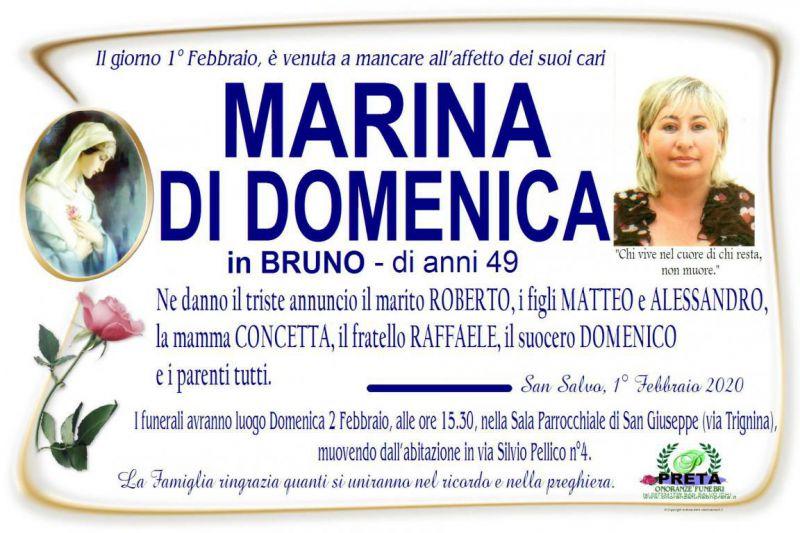 Marina Di Domenica 1/02/2020