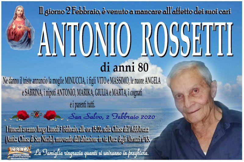 Antonio Rossetti 2/02/2020