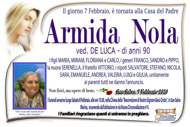 Armida Nola 7/02/2020