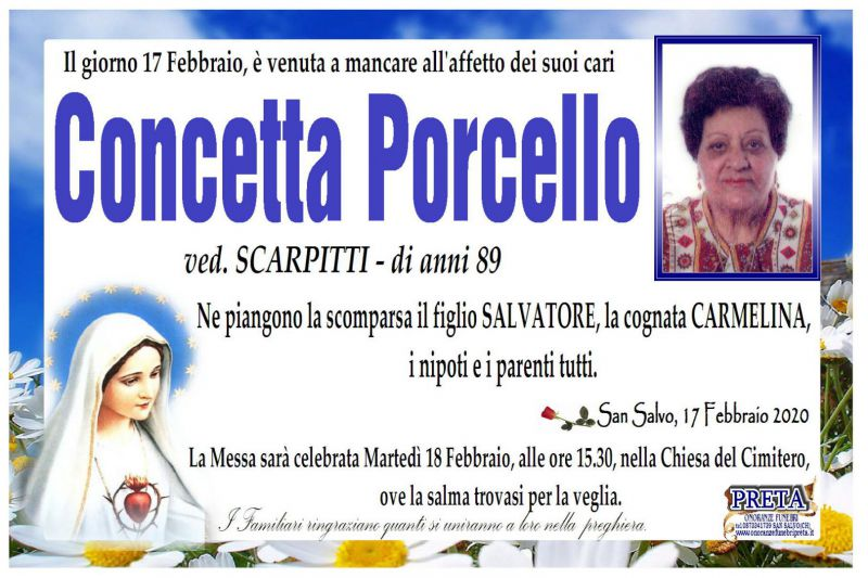 Concetta Porcello 17/02/2020
