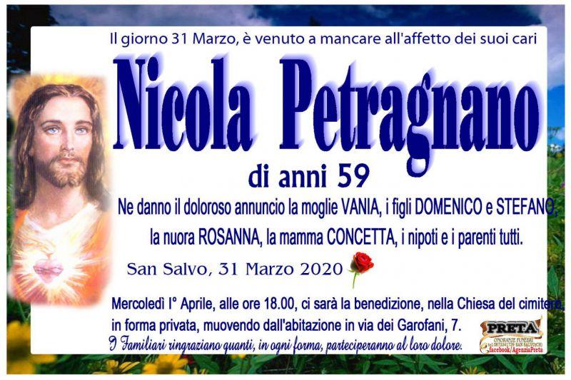 Nicola Petragnano 31/03/2020